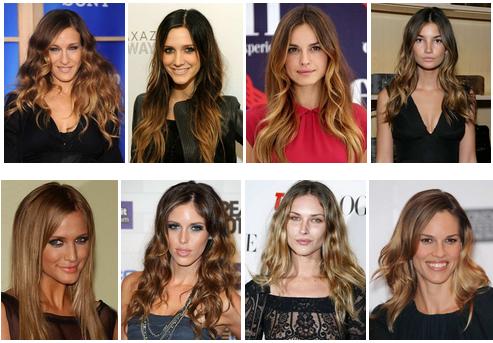 Брондирование с эффектом Ombre Hair Color
